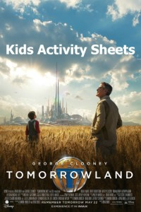 Tomorrowland Kids Activity Sheets