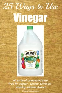 Ways to use Vinegar
