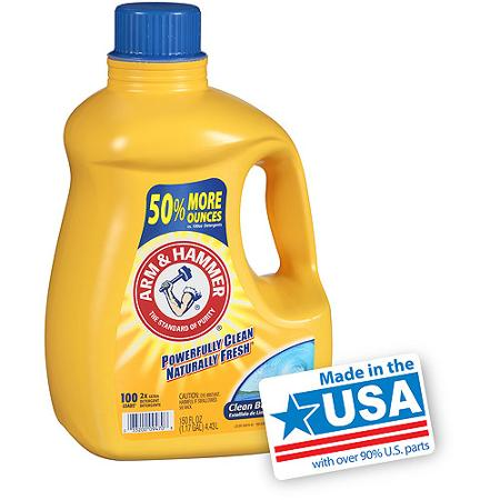 Arm and Hammer Laundry Detergent Coupon