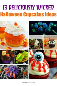 Deliciously Wicked Halloween Cupcakes Ideas