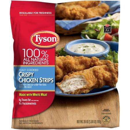Chicken recall strip tyson