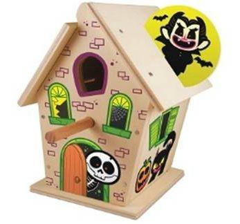 Free Haunted Birdhouse