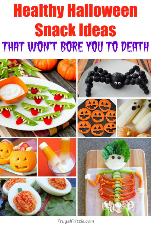Healthy Halloween Snack Ideas Roundup List