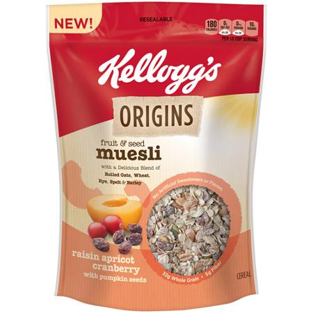 Kelloggs Origins Cereal Coupon