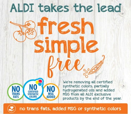 Aldi No Trans Fats