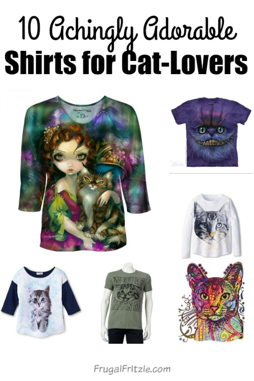 Adorable Cat Shirts