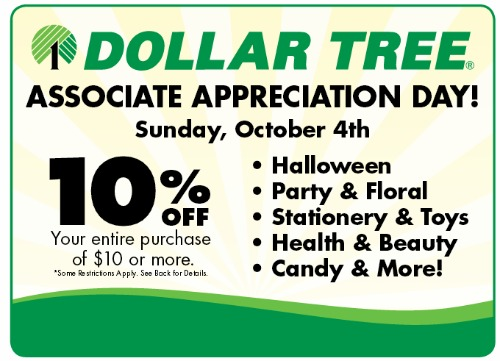 Dollar Tree Store Coupon