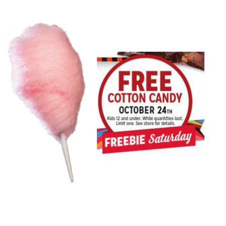 Free Cotton Candy for Kids