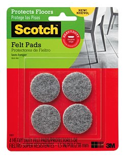 Free Scotch Felt Pads