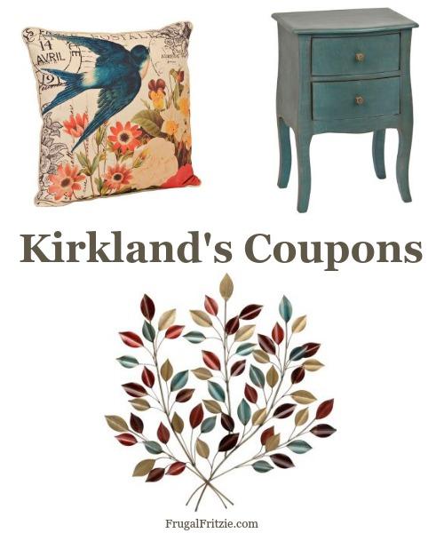 Kirklands In Store Coupon
