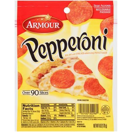 Armour Pepperoni Coupon