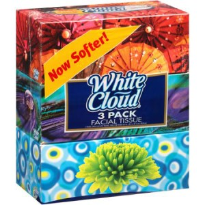 White Cloud Facial Tissue Coupon