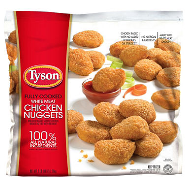 $1.00/1 Tyson Chicken Coupon (ANY Tyson Chicken Nuggets)