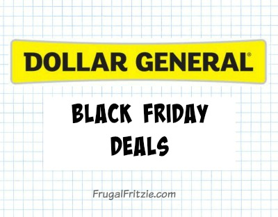 Dollar General Black Friday Ad Scan